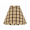 Salem Check Lampshade 10