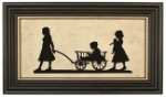 Wagon Ride Silhouette