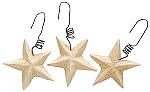 Small Resin Star Ornaments (Box of 12)