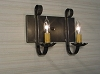 2 Arm Tin Vanity Light