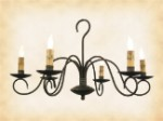 Franklin Wrought Iron Chandelier