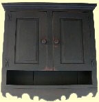 Pennsylvania Scrolled Cupboard