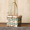 "7.5"" Mini Carrier Basket © - Blue"