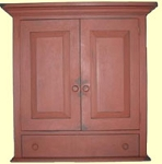 Pennsylvania Two Door Cupboard w/Drawer