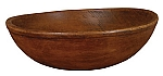 Large Rustic Farmhouse Bowl Stain