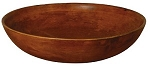 LARGE FORMAL FRUIT BOWL - STAIN