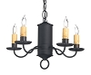 Westbury Hill Wrought Iron Chandelier