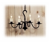 West Chester Wrought Iron Chandelier