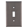 Plain Tin Single Switchplate