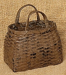 Two Handled Basket - Tan