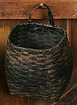 Drum Basket - Black, Grungy