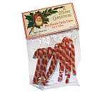 Mini-Chenille Candy Cane Ornament Set