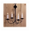 Thompson Wrought Iron Metal Chandelier