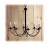Colony Wrought Iron Chandelier