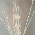 Lighted Willow Branches - White