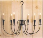 Northbridge Wrought Iron Chandelier