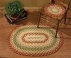 MILL VILLAGE BRAIDED RUG 32X42