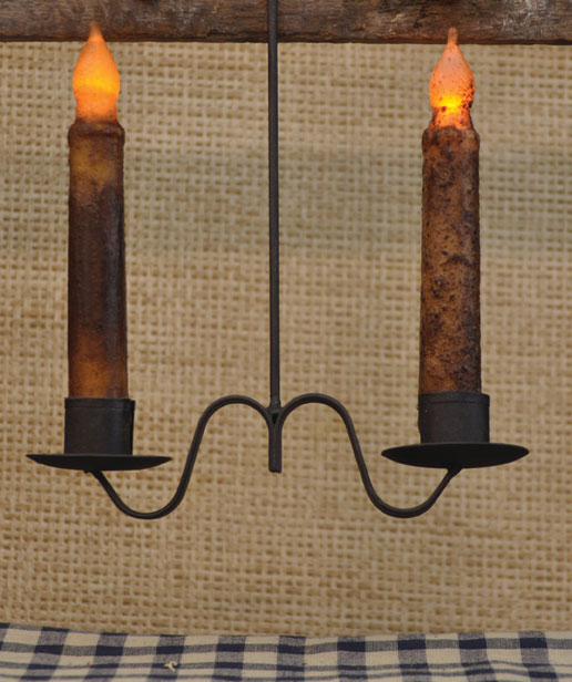 Double Candle Holder Hanging