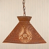 Roosevelt Shade Light Rustic Tin