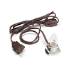 Accessory Cord with 1 Light - Brown - 6 feet