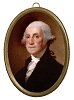 "6-1/4"" GEORGE WASHINGTON FRAME"