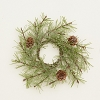 CANDLE RING-ICY PINE & PINECONES