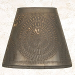 Fireside Shade with Chisel Design