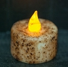 Burnt Ivory Timer Tealight BOC
