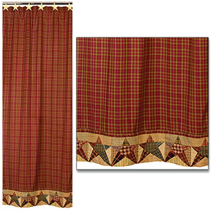Rebecca S Star Shower Curtain 72x72 Quot