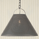 Homestead Shade Light with Chisel design