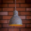 Pendant Lamp - Grungy Black