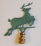 Deer Lamp Finial