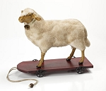 German Sheep Pull Toy