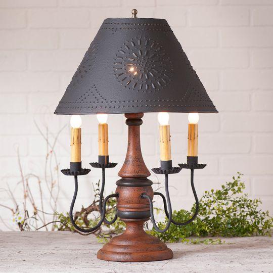 Jamestown lamp base in hartford pumpkin