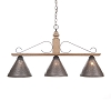 Wellington Large Hanging Light in Pearwood