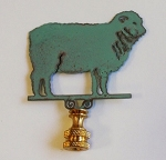 Sheep Lamp Finial