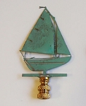 Sloop Lamp Finial