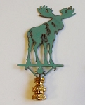 Moose Lamp Finial