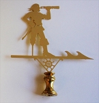 Pirate Lamp Finial