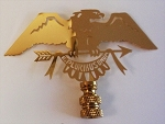 Eagle Lamp Finial