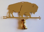 Buffalo Lamp Finial
