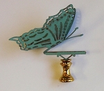 Butterfly Lamp Finial