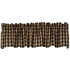 Black Lexington Valance