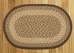 Oval Braided Rug