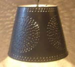 Punched Tin Shade Light