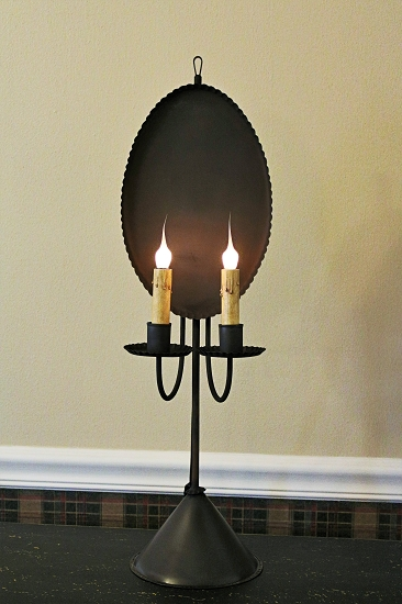 Country and primitive table lights tin table lamps aloadofball Gallery
