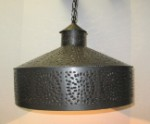 Large Tin Hanging Shade Light