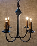 Small Tin Chandelier