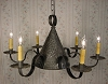 Witch's Hat Tin Chandelier