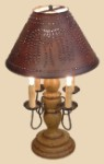 4 Arm Abby Wooden Table Lamp